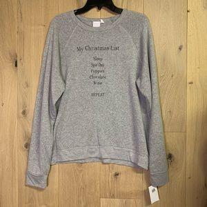 Project Social T women's gray sweater
